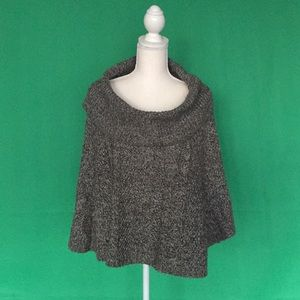 Jackets & Blazers - Gray sweater cape